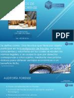 Fundamentos Auditoría Forense y el fraude - Ronald Hurtarte