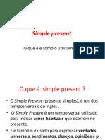 Simple present