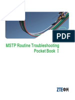 MSTP Routine Troubleshooting Manual (Issue 1)