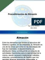 Mod. 5.- Procedimientos de Almacén