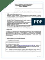Guia de aprendizaje 2 Orientar al Usuario...de Acuerdo con Políticas Institucionales y Normas de Salud Vigente.