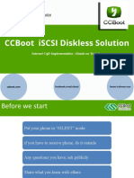 CCBoot Seminar
