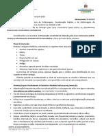 Memorando 014 -  Prevenção e Controle de Infecção pelo novo Coronavírus (2019-nCOV) no Atendimento Ambulatorial da Hemodialise
