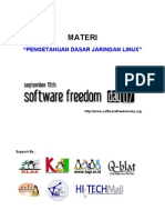 Pengetahuan Dasar Jaringan Linux