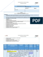 Unidad 3. Sesión 6. Planeación Didáctica. Procedimiento Administrativo. Febrero 2020