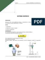 SISTEMA DISPERSO - SOLUCIONES