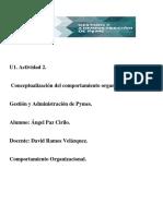 Actividad 2. Modelos Del Comportamiento Organizacional11