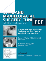 Alveolar Bone Grafting Techniques for Dental Implant Preparation, An Issue of Oral and Maxillofacial Surgery Clinics - Saunders; 1 edition (September 21, 2010)
