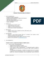 EXAMEN PARCIAL BD-2
