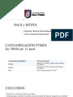 SACS y MYPES