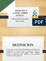 OU_6BQ_ADSORCIÓN E INTERCAMBIO IONICO