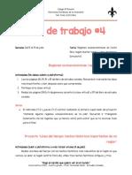 Guía de trabajo #4 Sociales 4to