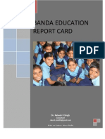 Banda Education Report Card