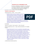 PRINCIPIOS PROCESALES EN EL ORDENAMIENTO LEGAL PERUANO
