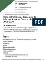 Plano Estratégico de Tecnologia da Informação do Governo do Canadá 2016-2020 - Canada.ca.pdf