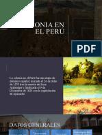 COLONIA EN EL PERÚ