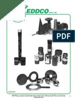 Catalogo KEDDCO  Figuras 8 swages filtros accesorios ELI