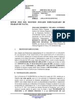 APELACION DE SENTENCIA DRET EXP. 938-2019 SOBRE CUMPLIMIENTO DE ACTO ADMINISTRATIVO