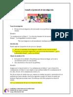 TIPS. Protocolo de investigación