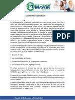 1. GENERALIDADES DEL SALARIO Y SU CLASIFICACIÓN