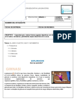 UNIDAD DE EDUCACION FISICA GRADO 4TO