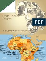ÁFRICA - Professora Roberta