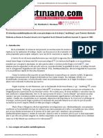 El abordaje multidisciplinario del acoso psicológico en el trabajo