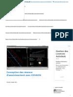 Conception des réseaux d'assainissement avec COVADIS _ Hydroblog
