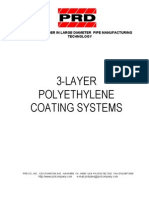 3-LAYER Coating of Pipes