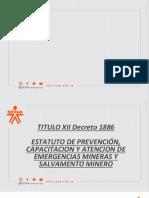 1. PREVEN- EMERGEN Y SALV MINERO