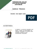 Introdución de Auditoria  Tributaria  y  Administración  tributaria
