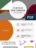 Cuentas por cobrar presentacion