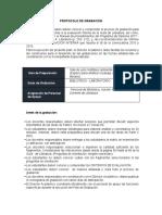 PROTOCOLO DE GRABACIÓN SIMULACION COID 2019