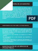 PRESENTACIÓN - ACTIVIDAD FINANCIERA DE LOS MUNICIPIOS