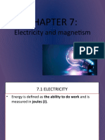 FORM 2 CHAPTER 7 ELECTRICITY AND MAGNETISM (KSSM)