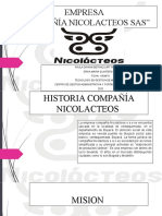 EMPRESA COMPAÑIA NICOLACTEOS