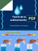 Teoría de la Sedimentación(2)