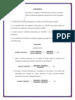 CASUISTICA - ANALISIS FINANCIERO