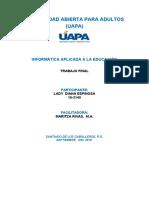 LADY - INFORMATICA APLICADA A LA EDUCACION.docx