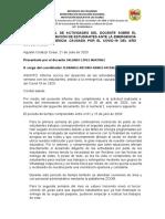 6TO INFORME SEMANAL DE ACT ORLANDO LOPEZ MARTINEZ -