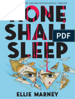 None Shall Sleep by Ellie Marney Chapter Sampler