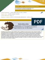 Formato para la presentación de ideas de solución epistemologia