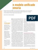 Hacia un Modelo Unificado de la Memoria-2010