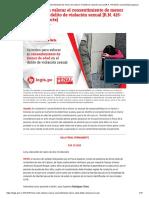 Criterios para valorar el consentimiento de menor de edad en el delito de violación sexual [R.N. 415-2015, Lima Norte] _ Legis.pe