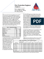 The 2007 Sfpe Employment Survey - Final