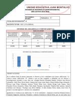 INFORME DEL DESARROLLO COMPORTAMENTAL PRIMER QUIMESTRE.2019-2020docx