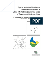 Spatial Analysis of Livelihoods of Small Holder Farmers in Striga-Infested Maize-growing Areas of Eastern and Southern Africa