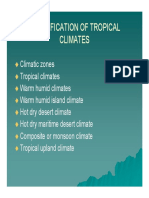 Classification of tropical climates1[1] [Compatibility Mode] (1)