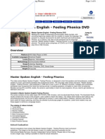 Master Spoken English - Feeling Phonics DVD