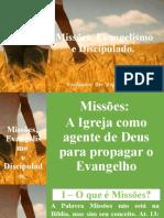 Curso Missões, Evangelismo e Discipulado
